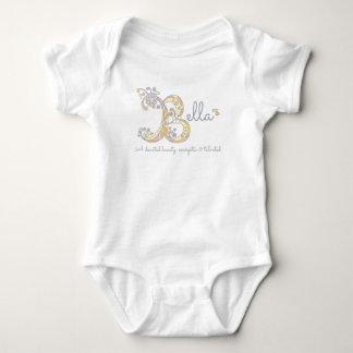 Le bébé nommé de monogramme de signification des body
