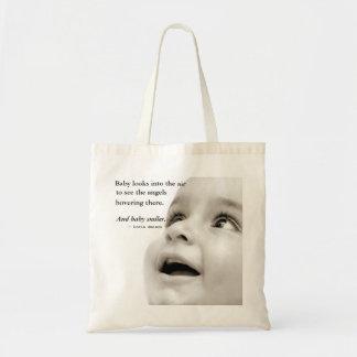 Le bébé sourit sac fourre-tout