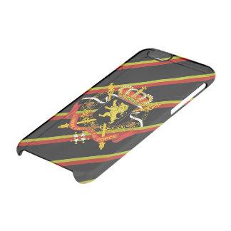 Le Belge barre le drapeau Coque iPhone 6/6S