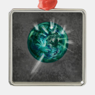 Le bijou d'Aelihus Ornement Carré Argenté