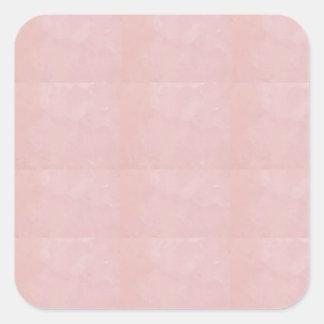 Le blanc de modèle ajoutent votre cristal élégant sticker carré