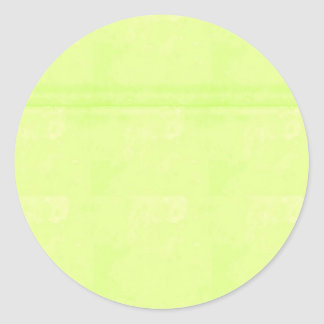 Le blanc de modèle ajoutent votre cristal élégant sticker rond