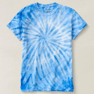 Le bleu de CYCLONE teignent en nouant le T-shirt