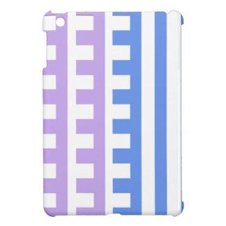 Le bleu lilas peigne la dent coque pour iPad mini