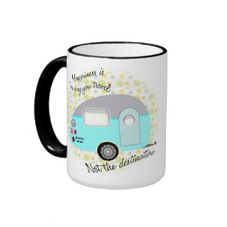 Le bonheur est la manière que vous voyagez des mug ringer