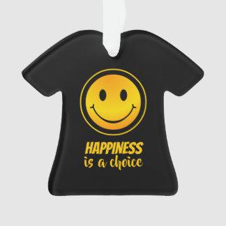 Le bonheur est un inspiré souriant heureux bien