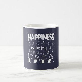 Le bonheur est un PAPA Mug