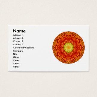 Le bouddhiste zen a inspiré des cartes de visite