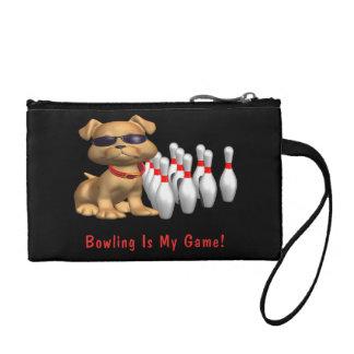 Le bowling est mon jeu - chien bourse