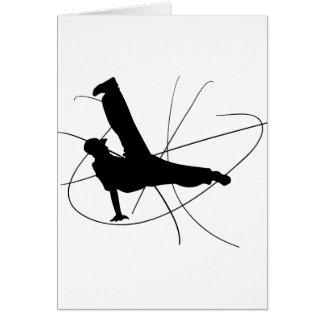 Le Breakdance Carte De Vœux