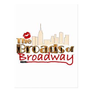Le BROADS de BROADWAY Carte Postale