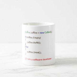 Le café de promoteur mug