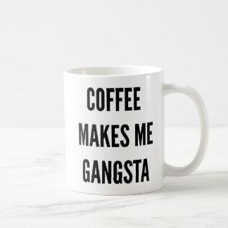 Le café drôle de Noël me fait le gangsta Mug