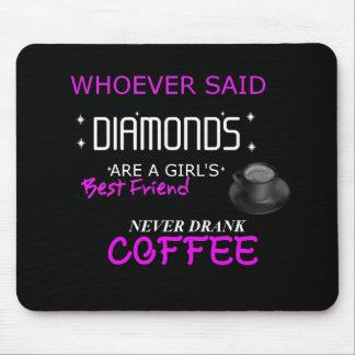 Le café est mon tapis de souris de Bff