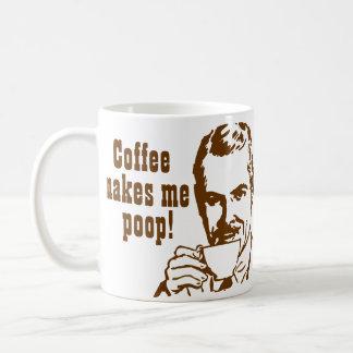Le café me fait la dunette ! mug