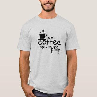 Le café me fait le T-shirt de dunette