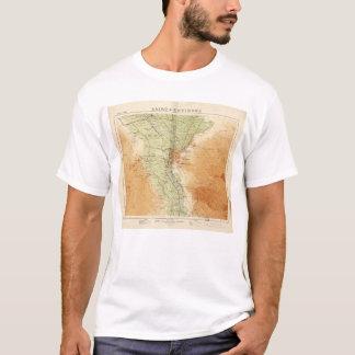 Le Caire et environs, carte de l'Egypte (1925) T-shirt