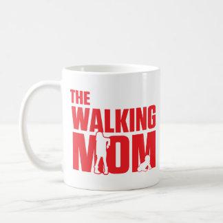Le calembour drôle la maman de marche plaisante mug