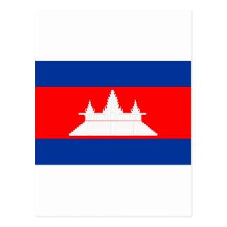 Le Cambodge Carte Postale