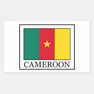Le Cameroun Sticker Rectangulaire