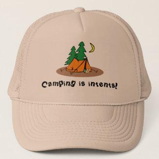 Le camping est casquette d'intentions