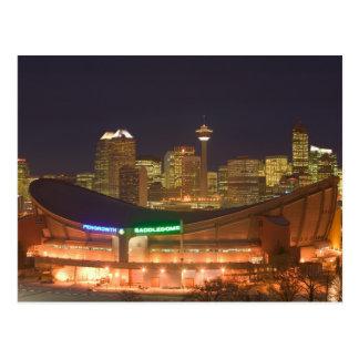 Le Canada, Alberta, Calgary : Horizon de ville de Carte Postale