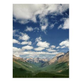 Le Canada, Colombie-Britannique, Yoho NP. Nuages Carte Postale