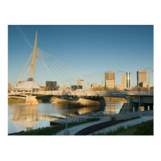 Le CANADA, Manitoba, Winnipeg : Esplanade Riel Cartes Postales