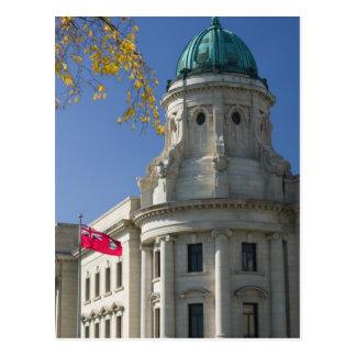 Le CANADA, Manitoba, Winnipeg : Les palais de Carte Postale