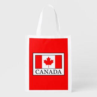 Le Canada Sacs D'épicerie Réutilisables