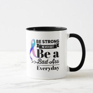 Le cancer de la thyroïde soit fort mug