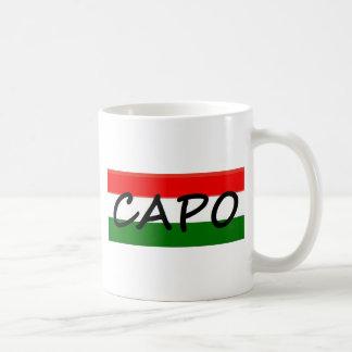 Le CAPO, capo signifie le PATRON ! en italien et Mug