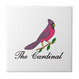 Le cardinal petit carreau carré