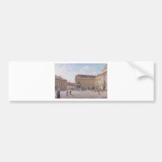 Le carré de Josef à Vienne par Rudolf von Alt Autocollant De Voiture