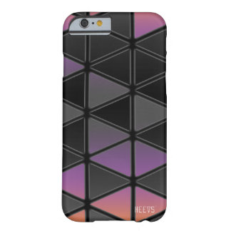 """le cas """"réflexions"""" de l'iPhone 6/6S noircissent Coque Barely There iPhone 6"""