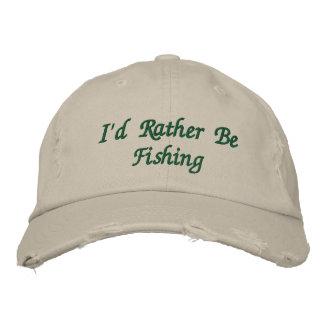 Le casquette brodé du pêcheur casquette brodée