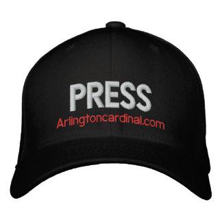 Le casquette cardinal de PRESSE