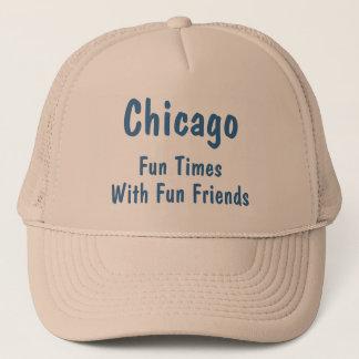Le CASQUETTE Chicago, amusement chronomètre TH5