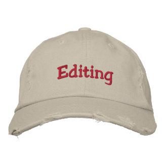 Le casquette de édition