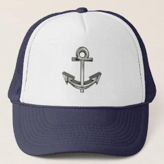 Le casquette du camionneur argenté nautique de