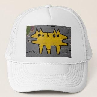 Le casquette du camionneur d'art/graffiti de rue