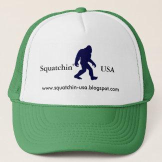 Le casquette du camionneur de Squatchin Etats-Unis