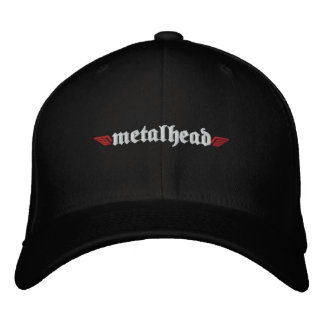 Le casquette principal w/Skull en métal