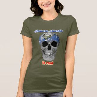 Le changement climatique est le T-shirt de vraies