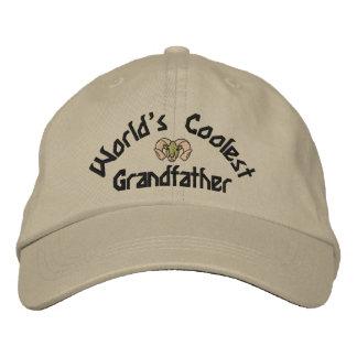 Le chapeau brodé par grand-père le plus frais du m