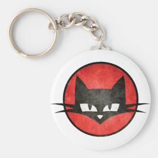 Le chat te regarde.PNG Porte-clés