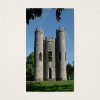 Le château du château de Blaise Cartes De Visite