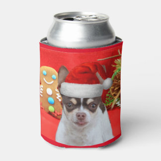 Le chien de chiwawa de Noël peut glacière