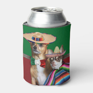 Le chien mexicain de chiwawas peut glacière