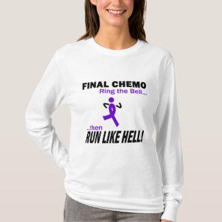 Le chimio final courent beaucoup - le ruban violet t-shirt